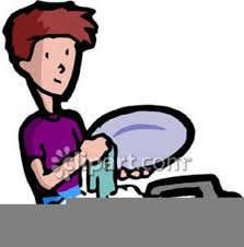 boy washing dishes clipart.  Clipart Download This Image As On Boy Washing Dishes Clipart S