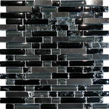 bedroom trendy black glass tile backsplash 4 sample marble le linear mosaic kitchen l f67cdf27a113e0aa black