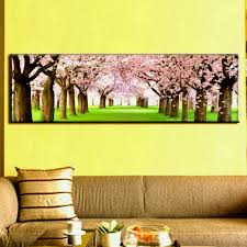 large canvas paintings wall art top home decoration the cherry blossom prints modern in painting calligraphy