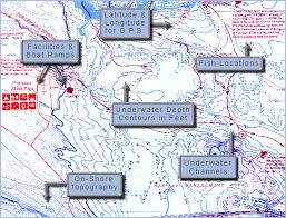 Belleville Lake Depth Chart Canada Fishing Maps From Omnimap The Worlds Leading