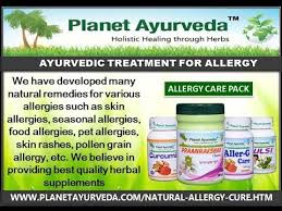 Ayurvedic Medicine for Allergies Treatment - Natural Treatment - YouTube