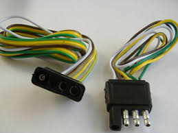 trailer wire identification how trailer wiring works howstuffworks standard four pin wiring harness