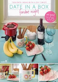 fondue night date in a box everything you need for a romantic night in all packaged up in one little box
