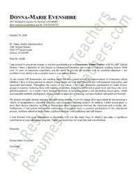 Preschool Teacher Cover Letter Sample Application Letter Example