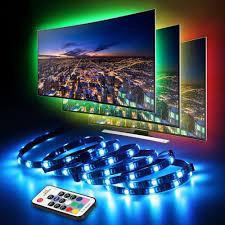 Led Tv Backlight Infinitoo Led Lights 4 50cm Set Usb Led Strip Light 5050 Rgb With Remote Control For 40 60 Inch Hdtv Pc Monitor Desktop
