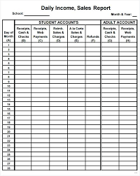 Daily Sales Template Excel Free Daily Sales Report Template Luxury Free Daily Sales