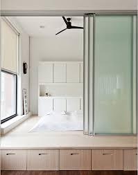 contemporary door divider ideas bedroom privacy sliding