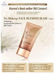 welcos whitening bb cream spf 30 pa no makeup face blemish balm ร นใหม 50 g บ บ เทพ บ บ ปร บผ วขาว ลบรอยส ว กระช บผ วมากข น