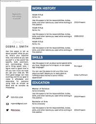 Free Resume Microsoft Word Templates Free Samples Examples