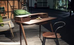 post small home office desk. goregous treviso desk in walnut is perfect for the smart home office post small