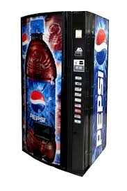 Small Pepsi Vending Machine Adorable Dixie Narco Model 48E Pepsi Burst Vending World