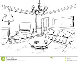 Living Room Coloring Clipart Living Room Black And White Clipartfest Living Room