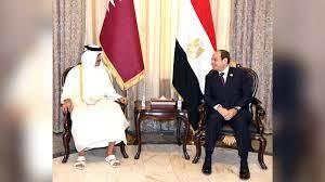 الرئيس المصري يلتقي أمير قطر على هامش مؤتمر بغداد.. وبيان رئاسي عن ما حدث  في أول لقاء - CNN Arabic