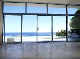 glass sliding doors exterior frosted commercial automatic
