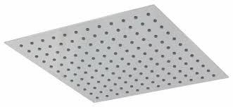 <b>Верхний душ</b> встраиваемый <b>Teorema</b> Square Flat 200 хром ...