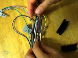 how to swap car dvd wiring harness yellow and red wire youtube Dual Car Stereo Wire Harness how to swap car dvd wiring harness yellow and red wire