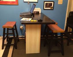 home office office tables home office. Tall Office Desk - Custom Home Furniture Check More At Http://michael Tables