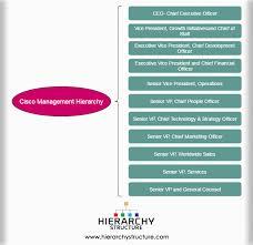 Cisco Org Chart 2016 Cisco Management Hierarchy Ciscos Organizational Structure