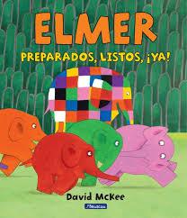 Resultado de imagen de ELMER COLECCION DE LIBROS