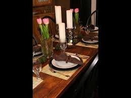 DIY Spring Table Setting Decorating Ideas ShowMeCute YouTube Delectable Dining Room Table Settings Decoration
