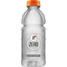 g zero glacier cherry nutrition