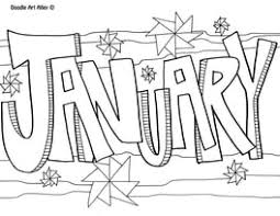Showing 12 coloring pages related to january. January Coloring Pages Doodle Art Alley