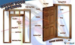 door jamb diagram. How To Replace A Door Jamb Diagram Repair Strike Plate D