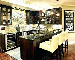 basement bar stone. Great Rustic Wet Bar Ideas Basement Cheap With Cool Kitchen Stone