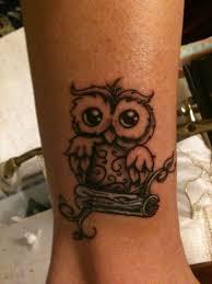 Not That I Would Ever Get A Tattoo татуировки совы простая