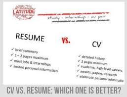 CV vs. Resume: do they differ and which one is better?
