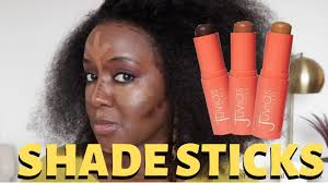 Juvias Place Shade Sticks Swatches And Review Dark Skin