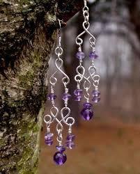 silver or gold beaded crystal chandelier earrings