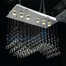 chandelier rain chandelier modern contemporary chandelier flush mount led pendant fixture crystal rain entry chandelier
