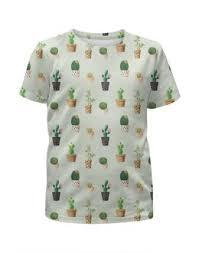 """Детские футболки c стильными принтами """"<b>кактус</b>"""" - <b>Printio</b>"""