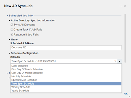 Creating An Active Directory Ad Sync Job Decisions Documentation