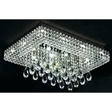 rectangular flush mount chandelier endearing flush mount crystal chandelier of new designs in flush mount crystal