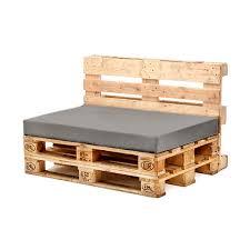 grey seat cushion for euro pallet garden furniture waterproof outdoor sofa uk