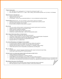 8 Interest Resume Example Write Memorandum
