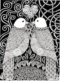 Small Picture adult love birds Coloring pages Printable