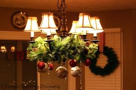 creative holiday chandelier ideas