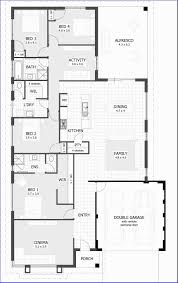 6 room house plan pdf and 4 bedroom house plans home designs
