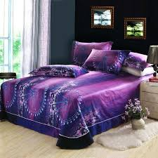 purple mattress sheets wheel night city skyline purple bedding set queen duvet cover bed sheet cotton bedroom textiles in bedding sets from home