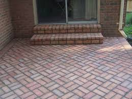 Small Picture The Modern Design of the Brick Patio Ideas Amazing Home Decor