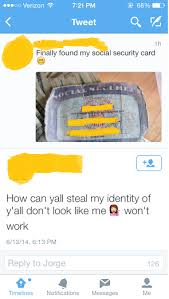Check spelling or type a new query. She Finally Found Her Social Security Card Facepalm