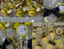 Interior Design  Cool Bumble Bee Themed Baby Shower Decorations Bumble Bee Baby Shower Party Favors