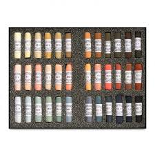 Unison Handmade Pastel Set 36 Portrait Colors Cheap Joes
