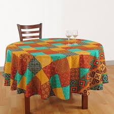 tri color round table cover 1855 view larger