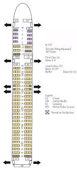boeing 757 delta airlines seating chart