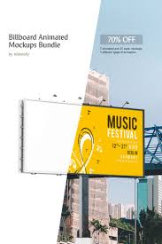 Design A Billboard Online Free Billboard Animated Mockups Bundle 69321 Billboard