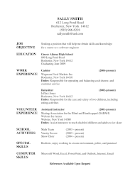 Babysitter Resume Objective Babysitter Resume Objective 24 Sample To Inspire You How Create A 1